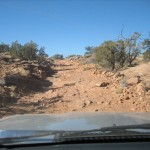 Oh yeah, this is what we mean by a county road in southeast Utah!