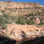 Water in Mule Canyon