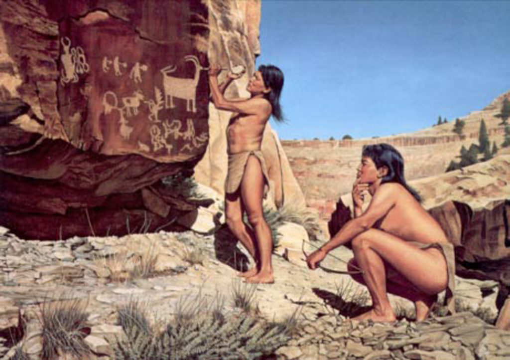 """Artisans of the Rock"", painting by Joe Venus"