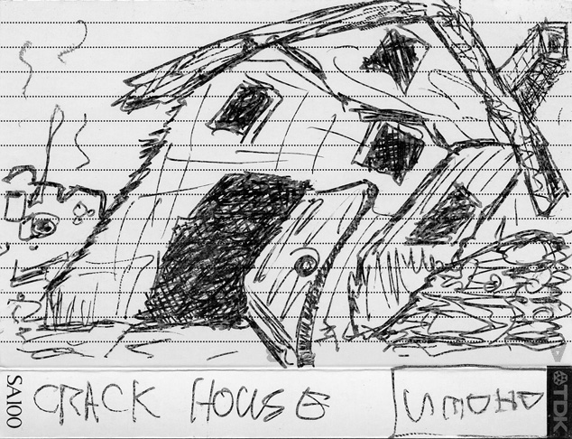Didactyl Brothers Crack House cassette cover
