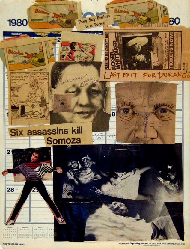 Poetry Attack collage